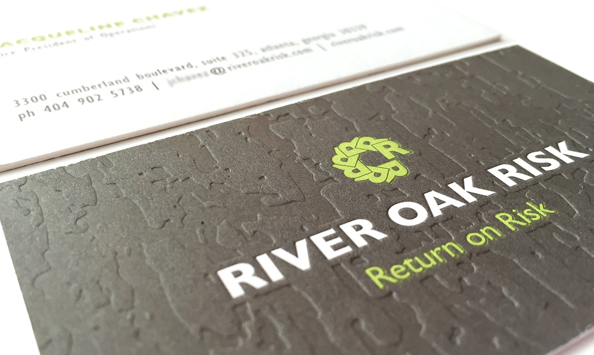 River Oak Risk Business Card